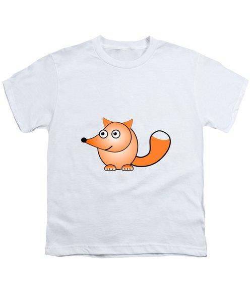 Fox - Animals - Art For Kids Youth T-Shirt