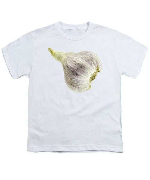 Garlic Head Youth T-Shirt by Erich Grant