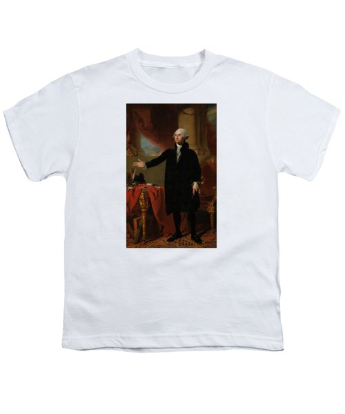 George Washington Lansdowne Portrait Youth T-Shirt by War Is Hell Store