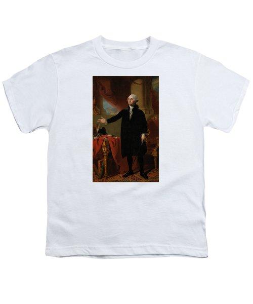 George Washington Lansdowne Portrait Youth T-Shirt
