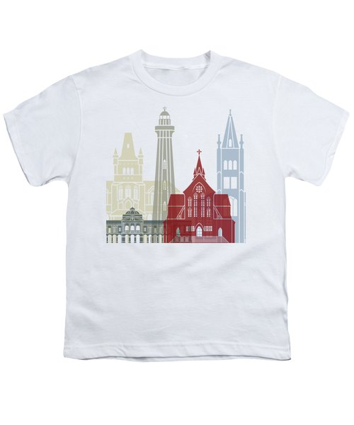 Georgetown Skyline Poster Youth T-Shirt