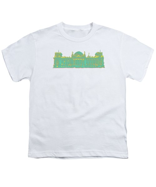 Germany Reichstag Dots Youth T-Shirt by Frank Hoven