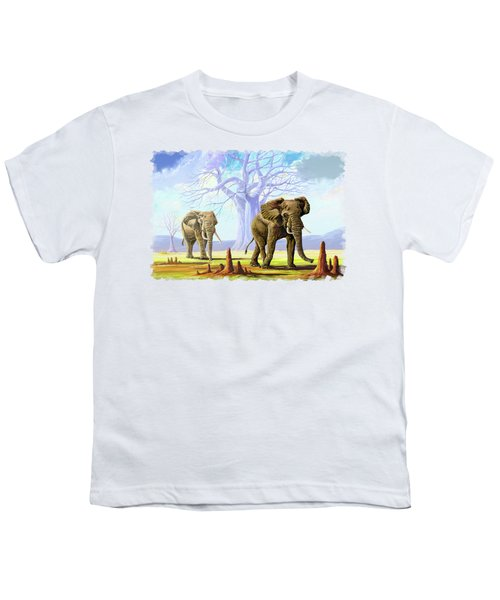 Giants And Little People Youth T-Shirt