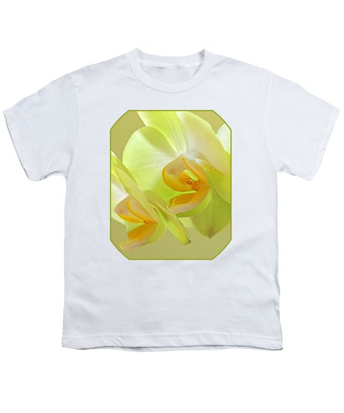 Glowing Orchid - Lemon And Lime Youth T-Shirt by Gill Billington
