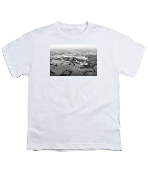 Youth T-Shirt featuring the photograph Going Solo by Gary Eason