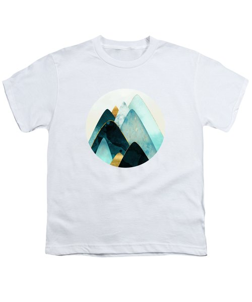 Gold And Blue Hills Youth T-Shirt