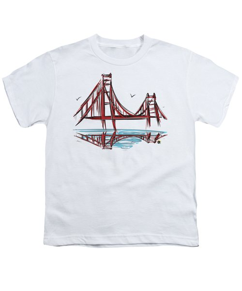 Golden Gate Bridge Youth T-Shirt