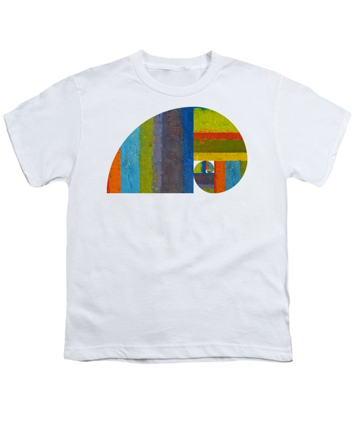 Golden Spiral Study Youth T-Shirt by Michelle Calkins