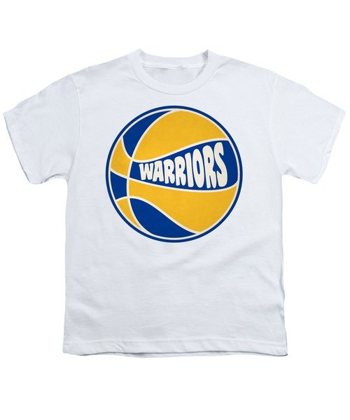 Golden State Warriors Retro Shirt Youth T-Shirt by Joe Hamilton