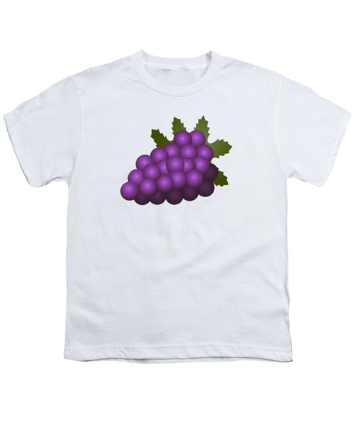 Grapes Fruit Youth T-Shirt
