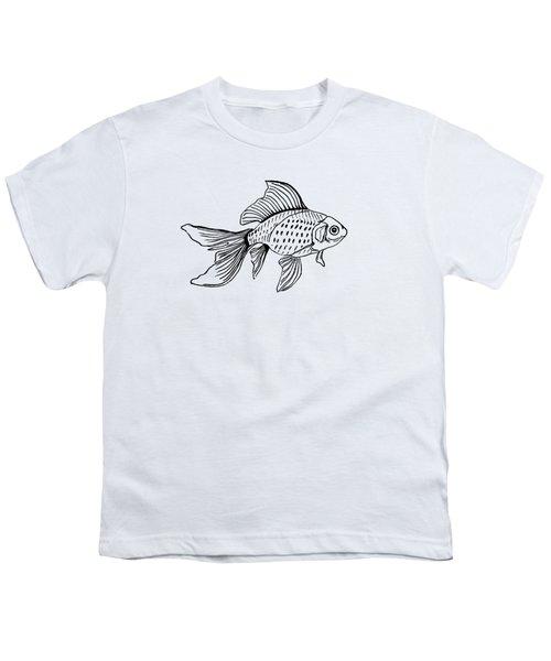 Graphic Fish Youth T-Shirt