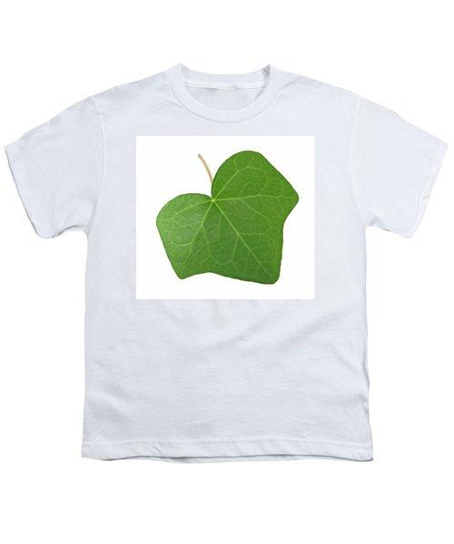 Green Ivy Leaf Youth T-Shirt