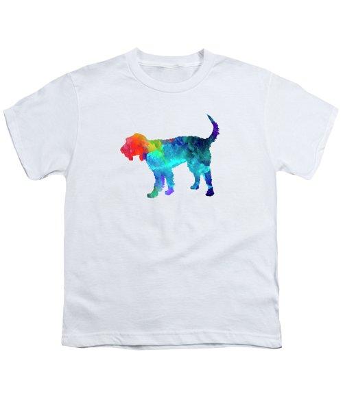 Griffon Nivernais In Watercolor Youth T-Shirt