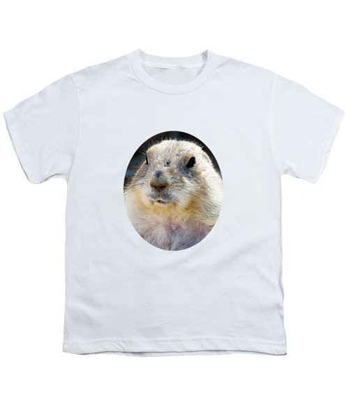 Ground Squirrel Portrait Youth T-Shirt by Laurel Powell