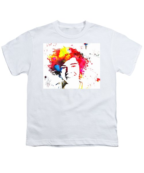 Harry Styles Paint Splatter Youth T-Shirt by Dan Sproul