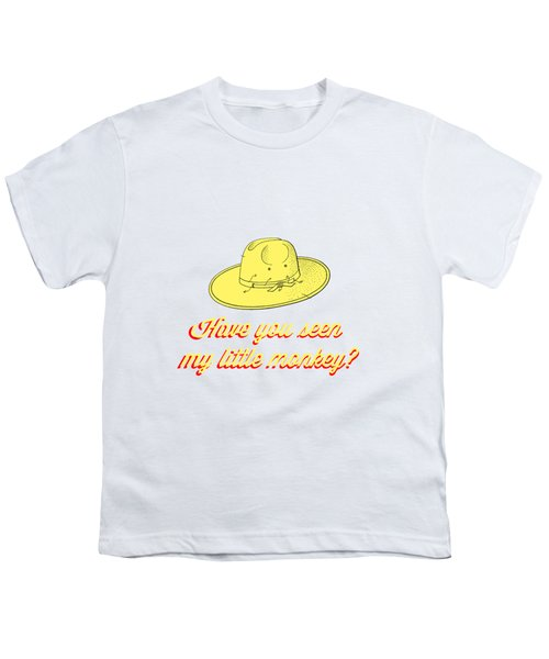 Have You Seen My Little Monkey Tee Youth T-Shirt by Edward Fielding