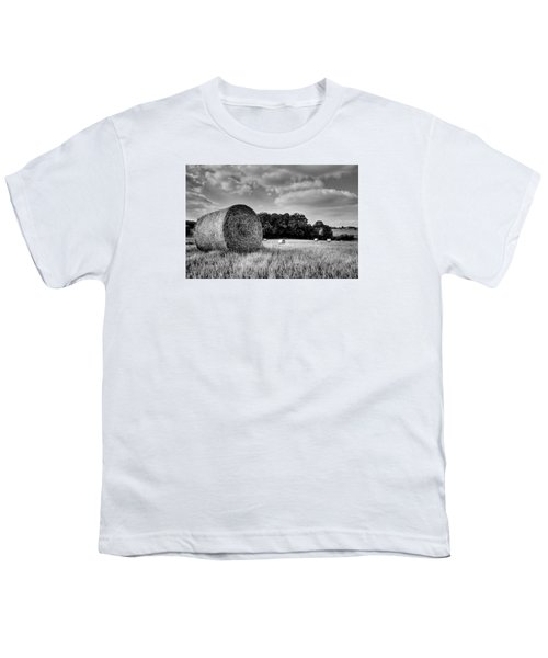 Hay Race Track Youth T-Shirt by Jeremy Lavender Photography