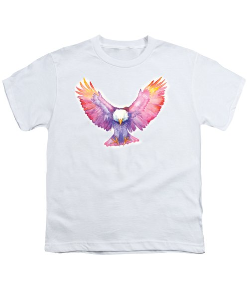 Healing Wings Youth T-Shirt by Cindy Elsharouni