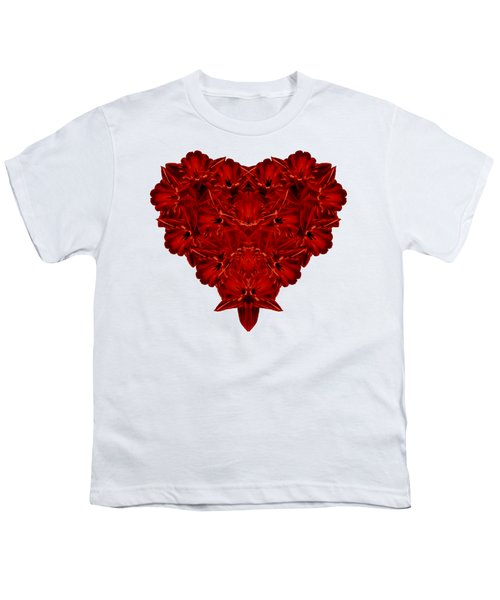 Heart Of Flowers T-shirt Youth T-Shirt