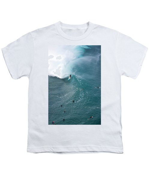 Tubed From Above. Youth T-Shirt