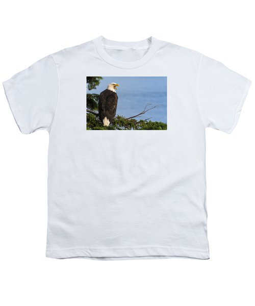 Youth T-Shirt featuring the photograph Hey by Gary Lengyel