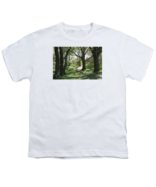 Youth T-Shirt featuring the photograph Hill 60 Cratered Landscape by Travel Pics