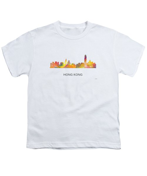 Hong Kong China Skyline Youth T-Shirt