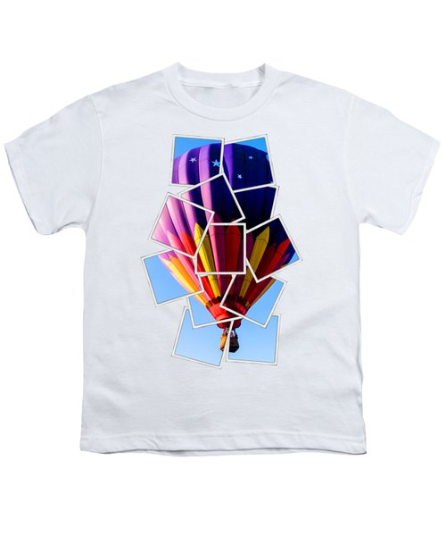Hot Air Ballooning Tee Youth T-Shirt by Edward Fielding