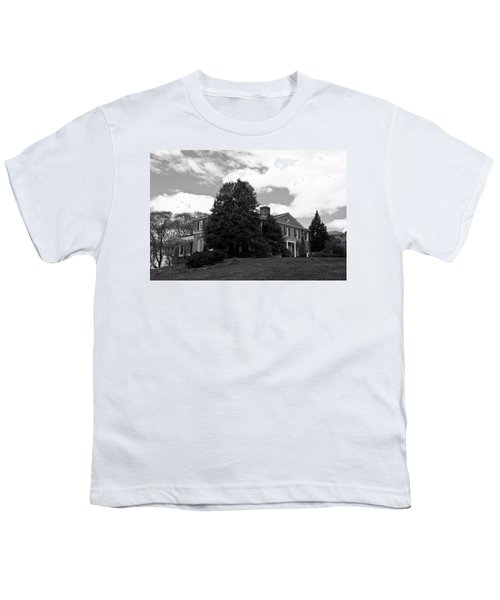 House On The Hill Youth T-Shirt by Jose Rojas