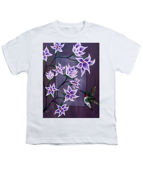 Hummingbird Delight Youth T-Shirt