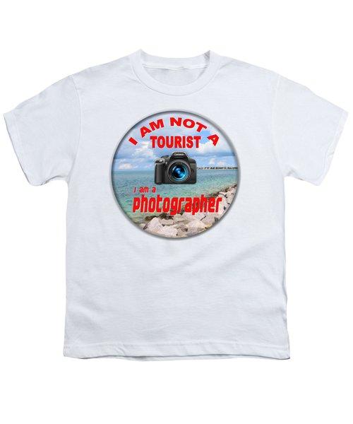 I Am Not A Tourist Youth T-Shirt