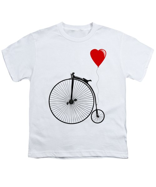 I Love Cycling Youth T-Shirt