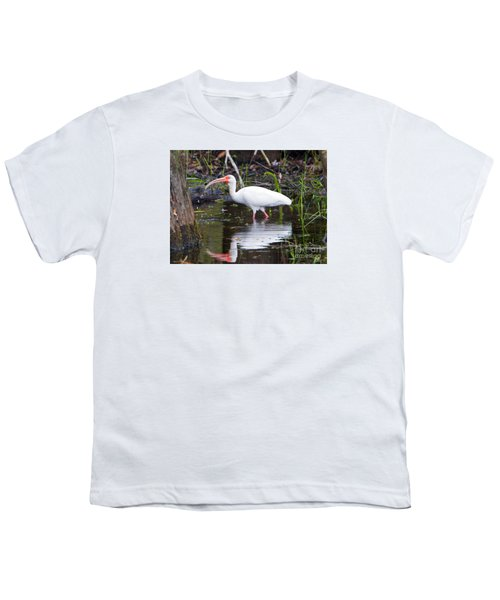Ibis Drink Youth T-Shirt by Mike Dawson