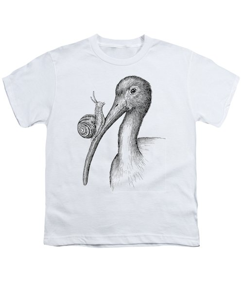 Ibis With Snail Youth T-Shirt