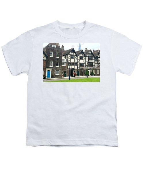 In London Youth T-Shirt by Nancy Ann Healy