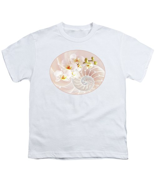 Intimate Fusion In Soft Pink Youth T-Shirt