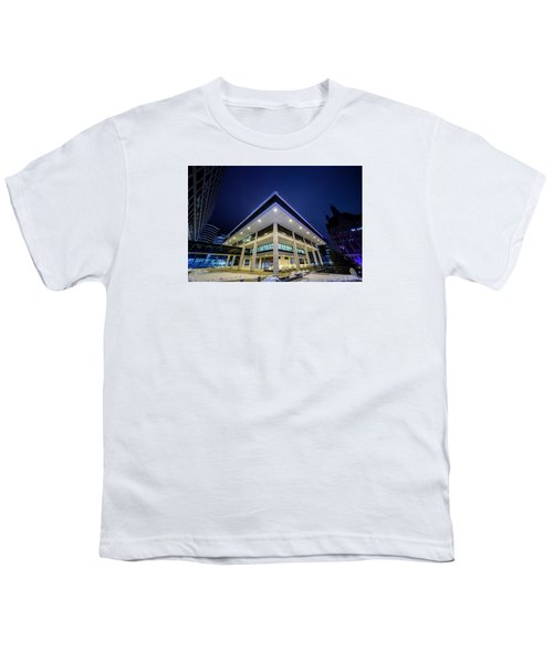 Inverted Pyramid Youth T-Shirt by Randy Scherkenbach