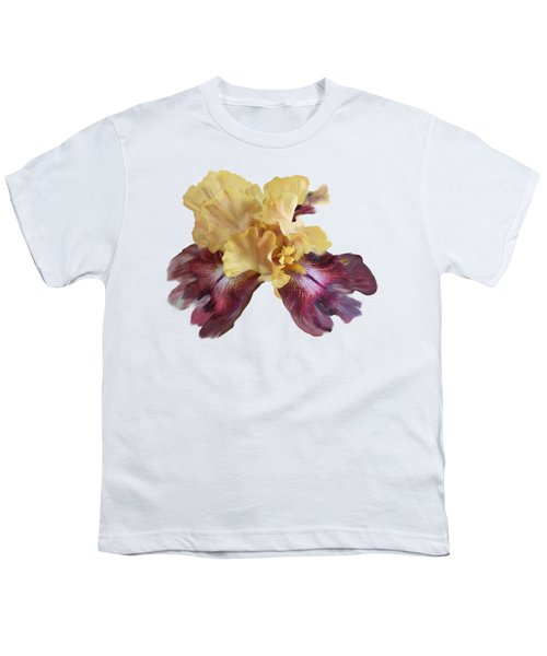 Iris T Shirt Youth T-Shirt by Nancy Pauling
