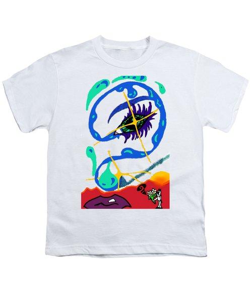 iseeU Youth T-Shirt by Flyn Phoenix