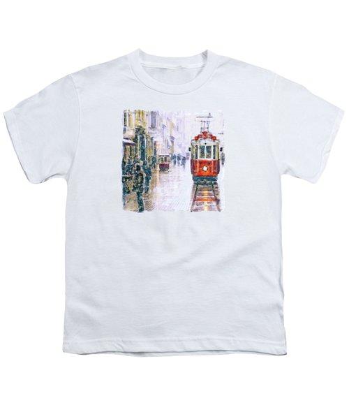 Istanbul Nostalgic Tramway Youth T-Shirt