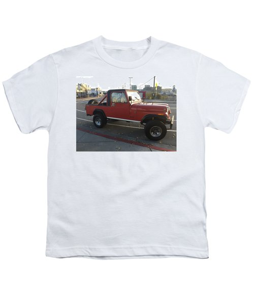 Jeep Cj8 Scrambler Youth T-Shirt