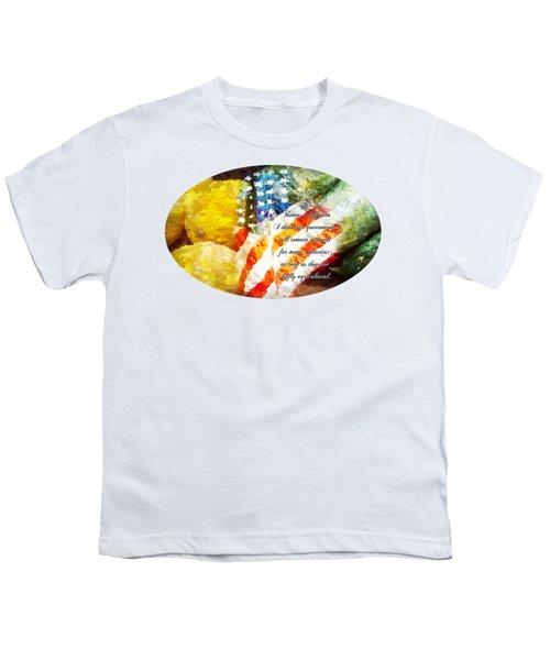 Jefferson's Farm Youth T-Shirt by Anita Faye