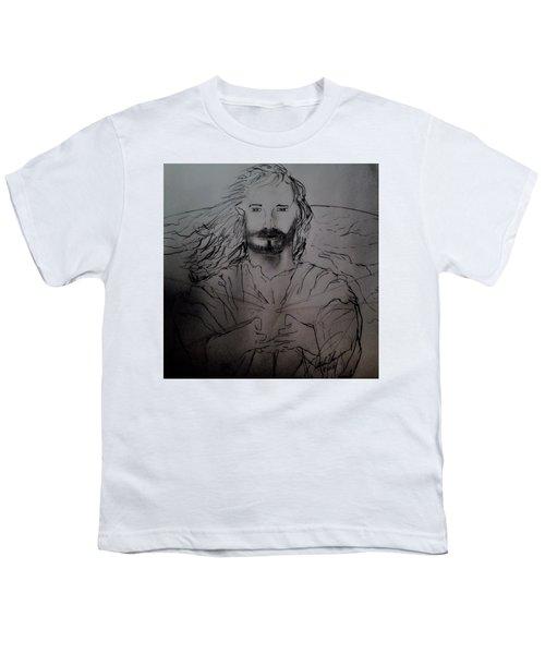 Jesus Light Of The World Full Youth T-Shirt