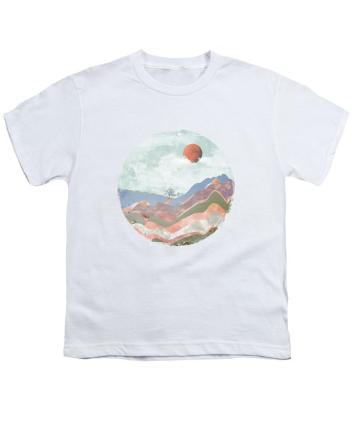 Journey To The Clouds Youth T-Shirt by Katherine Smit