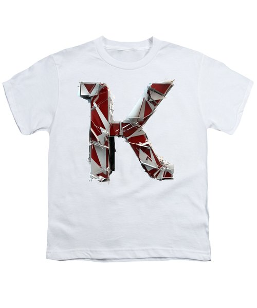 Youth T-Shirt featuring the photograph K Is For King by Gary Keesler