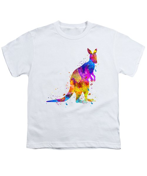 Kangaroo Art Youth T-Shirt