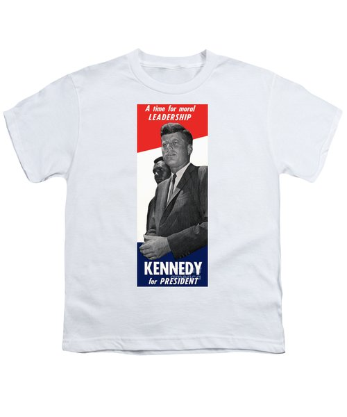 Kenndy For President Youth T-Shirt