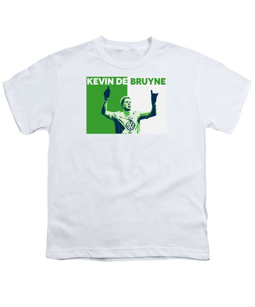 Kevin De Bruyne Youth T-Shirt by Semih Yurdabak