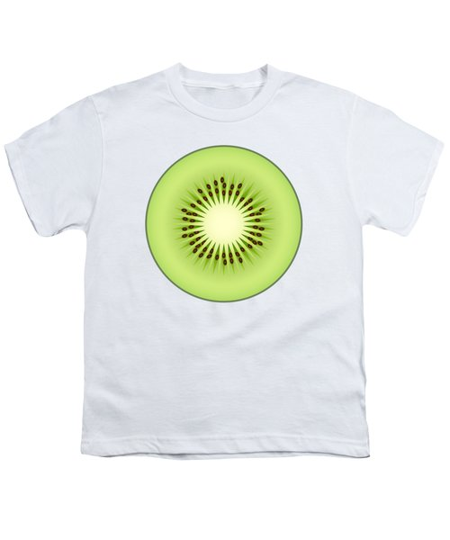 Kiwi Fruit Youth T-Shirt by Miroslav Nemecek