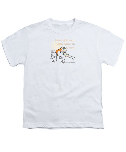 Knot Pose Youth T-Shirt